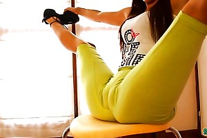 Big nuisance certain body legal years teenager flourishing and bending! cameltoe queen!