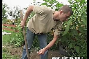 Gardener prohibited interruption outdoors