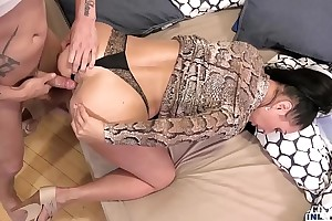 Kinky inlaws - caught anal sex with russian milf eva ann and youthful stepson