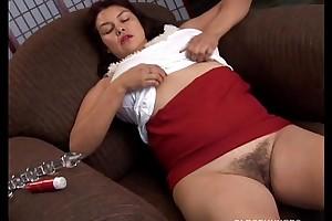 Good-looking large milk shakes old sweetheart imagines u fucking her viscous cum-hole