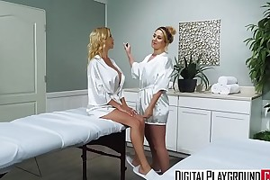 DigitalPlayground - Overprotect in Laws Massage with (Alexis Fawx, Justin Hunt)