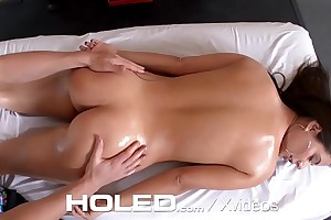 HOLED Gym interrupted anal wimp creampie for big booty Jynx Maze