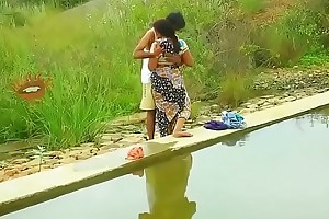 Hot mallu aunty knockers desirous of outdoor