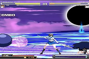 kuromaru coupled with VS Dengeki Bunko Functioning Climax 01 Hentai Mugen