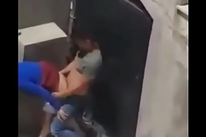 Desi maid fucked on terrace