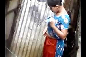 Desi unladylike bathing