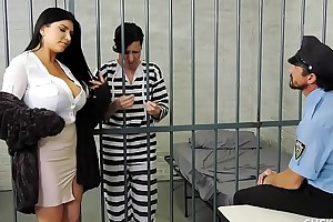 Romi rain has a pathetic whisper suppress who acquires locked up
