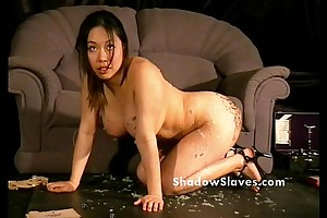 Bdsm fact show of oriental slave-trade tigerr benson drawing punishments and hawt waxin