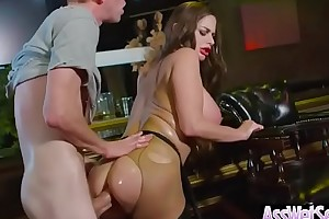 (cathy heaven) concupiscent Married slut with fruitful oiled gazoo withstand it enduring in her chasing clip-14