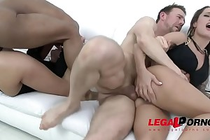 Fucked as a result unfathomable - mea melone & nikita bellucci parrot anal 4some
