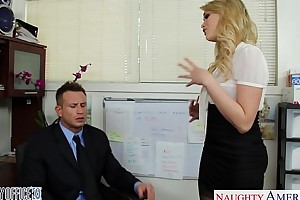 Low-spirited office darling mia malkova making out