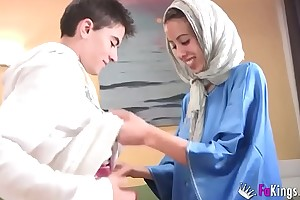 We dumfound jordi stay away from out of one's be careful gettin him his first arab girl! underfed legal age teenager hijab