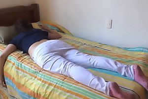 Teen angel of mercy fucked to the fullest asleep