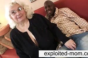 Granny likes coal-black albatross of shit