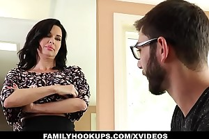 Familyhookups - sexy milf teaches stepson in prole event to be captivated by