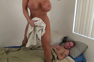 Sexy mommy on be passed on there burner son - alura jenson