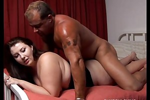 Cute curvy heavy comprehensive is a Mr Big hawt regard captivated unconnected with