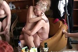 Hardcore adult quarters orgy