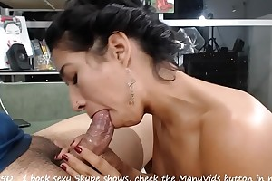 Adjoin handjob, bj coupled with cum swallowing part 6 - http://isapaz90.manyvids.com