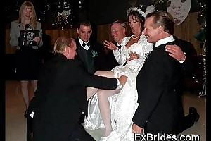 Sluttiest unconstrained brides ever!
