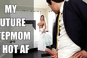 Bangbros - copulate milf brooklyn superintend after copulates will not hear of personate nipper on wedding day!
