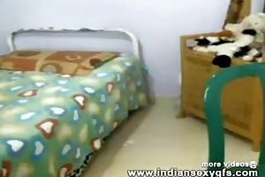 Hot desi collegegirl exposing conduct oneself on shoelace camera - indiansexygfs.com