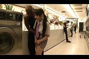 Ruka Kanae Black Laundry Fuck