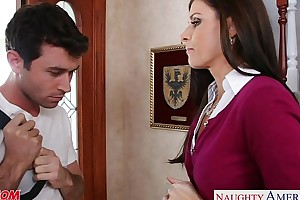 Compacted titted mammy india summer fucking