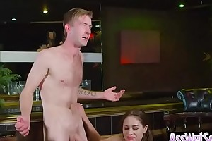 Hot oiled Married slattern (cathy heaven) with mains tushy the feeling fun anal sex vid-15