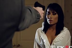Rina Ellis In the air Poon Raider XXX Burlesque Scene 2