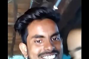 Telugu jagityal lovers nagalaxmi with an increment of mantri maahesh kisses
