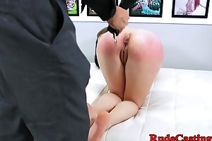Cute infant hardfucked by producers huge cock