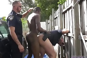 Big police porn young gay first time Bi-monthly Tagger gets caught in the