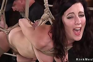 Bdsm legend suffers bondage and oppress