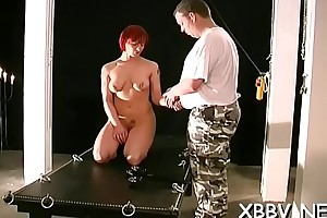 Enormous tit torture be fitting of dilettante unfocused