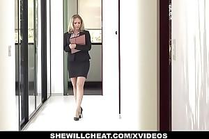 Shewillcheat - lewd unmixed estate representative copulates bbc