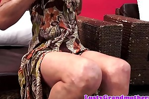 Doggystyle fucked mature beauty loves flannel